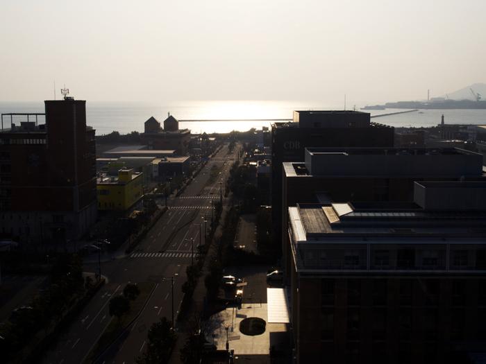 キメックセンタービルからの景色