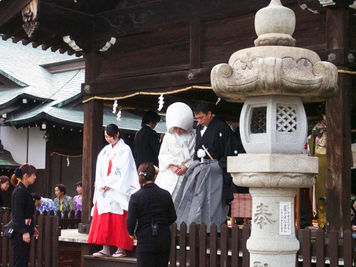 北野天満神社 神前結婚式