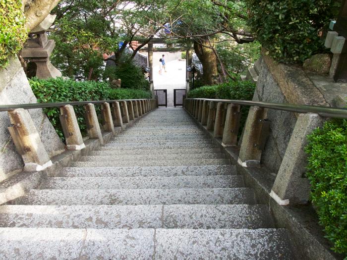 北野天満神社 階段