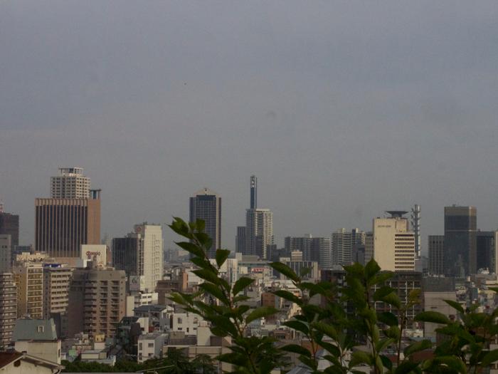 北野天満神社からの景色
