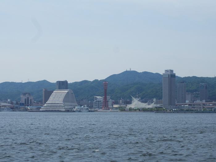 海と神戸方面の写真